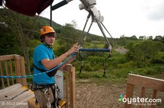 Bucket List: Visit the Best Hotel Ropes and Zip-Line Course: Hope Lake Lodge, Finger Lakes