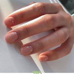 HOTTEST MATTE SHORT NAIL ART DESIGNS IDEAS 2019 Now,the footsteps of fall are getting closer, you can prepare early, and quickly collect a pair of frosted nails that can be used to lead the fashion. Nail Art Designs, Short Nail Designs, Nail Designs Spring, Nails Design, Natural Nail Designs, Matte Nails, My Nails, Acrylic Nails, Dark Nude Nails