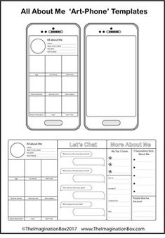 Iphone Template  Teaching    Template School And Teacher