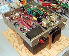 amplifier KITs page Valve Amplifier, Diy Garden Projects, Audio Speakers, Vacuum Tube, Diy Electronics, Circuit Board, Loudspeaker, Brushed Stainless Steel, Audiophile