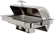Buffet Enhancements 010YC43 Rectangular Counter Drop-In Classic Empire Style Chafing Dish, Stainless Steel
