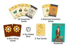 Nerdy Inventions, juego ligero de realizar inventos