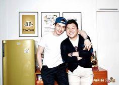 Korean Program Roommate// Roommates: Lee Dong-Wook (actor) and Jo SeHo (comedian) Seo Kang Joon, Korean Celebrities, Korean Actors, Korean Idols, Korean Dramas, Lee Dong Wook Roommate, Dumbbell Leg Workout, Korean Variety Shows, Reality Tv Shows
