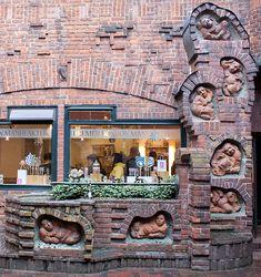 Faul macht pfiffig! Der Brunnen der Sieben Faulen in Bremen.