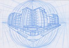 Four Point Perspective City Block by scruffbot.deviantart.com on @deviantART
