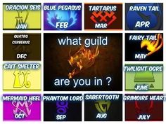 I'm in Grimoir Heart. but let's just say Fairy Tail Fairy Tail Meme, Fairy Tail Quotes, Natsu Et Lucy, Fairy Tail Natsu And Lucy, Birthday Scenario Game, Birthday Games, Raven Tail, Anime Zodiac, Fariy Tail
