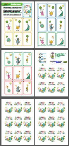 Mompitzige Karten zur Gruppenbildung -  -
