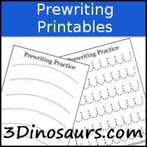 Not all Kids are ready for a small line when practicing tracing lines. These Prewriting Practice Solid & Dashed Printables are here to help with that! The Prewriting Practice Solid & Dashed Printables come with a start and stop to Preschool Literacy, Preschool Education, Kindergarten Writing, Classroom Activities, Preschool Activities, Classroom Ideas, Writing Lines, Pre Writing, Writing Skills