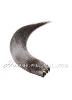 "#2 10""-24"" Indian Remy Hair Wefts Extensions Yaki [WT2YK]"