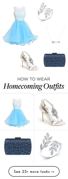"""Homecoming"" by lkr82203 on Polyvore featuring Ted Baker, Adina Reyter and Iwantthisdress"