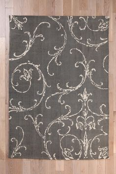 Plum & Bow Filigree Scroll Rug #urbanoutfitters