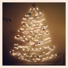 Holidays will soon, cool idea for christmas tree