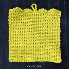 This Simple Crochet Pencil Pouch Pattern is a great pattern for beginning crocheters. Make a cute little pouch to hold pencils or whatever you want! I originally shared this post at Craftaholics Anonymous, and it contains affiliate links, which help to support this blog. Thank you!   I've got a perfect little back to school …