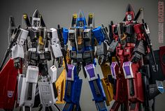 Transformers Masterpiece MP-11NR Ramjet, MP-11ND Dirge and MP-11NT Thrust