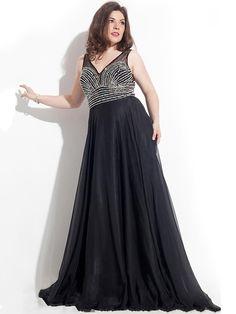 Vestidos de cerimónia plus size - Moda & Style