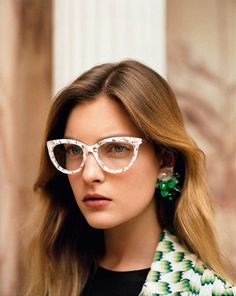 Missoni Gets Nostalgic for its Spring 2013 Campaign by Alasdair McLellan Love Vintage, Wearing Glasses, Girls With Glasses, Hey Girl, Geek Chic, Missoni, Retro, Hair Inspiration, Fashion Inspiration