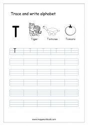 English Worksheet - Alphabet Writing - Small Letter t Alphabet Writing Worksheets, Alphabet Writing Practice, Writing Practice Worksheets, Alphabet Tracing, Learning Letters, Hindi Worksheets, Kindergarten Writing, Preschool Learning, Learning Activities