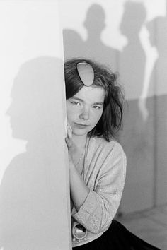 Bjork, lead singer with Icelandic band The Sugarcubes in San Francisco on August 16, 1988.