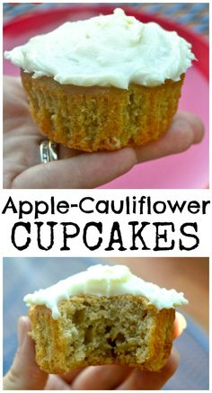 Apple Spice & Cauliflower Cupcakes – Make the Best of Everything