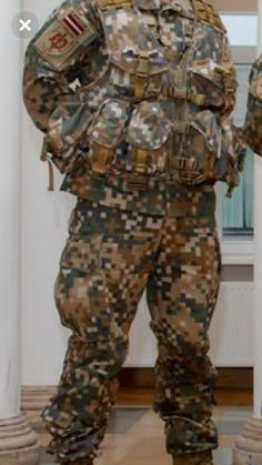 digital tarn Original US ACU Anzug Hose Jacke Digital Anzug