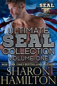 FREE today only! Ultimate SEAL Collection No. 1 includes books 1-4 + 2 novellas: https://www.amazon.com/Ultimate-SEAL-Collection-Hamiltons-Brotherhood-ebook/dp/B00J6GU2AC?tag=sharohamil-20#nav-subnav