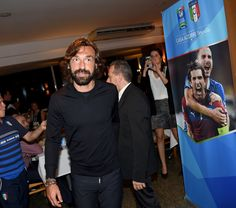 Andrea Pirlo Photos: Italy Team Visit Casa Azzurri on Mangaratiba - 2014 FIFA World Cup