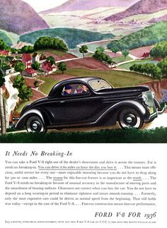 1936 Ford V-8 De Luxe Coupe (Three Windows) | Flickr - Photo Sharing!