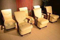 北欧 OC26F キャスター付チェアー6脚セット1円展示品アウトレットイス Scandinavian modern chairs ¥6500yen 〆04月02日