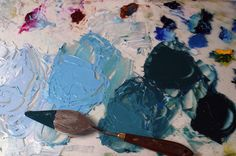 Creating a Landscape With a Palette Knife Demonstration - Artist's Network #oilpainting #landscapes #art