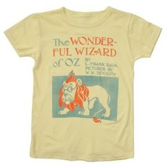 Out of Print Shirts for kids <3
