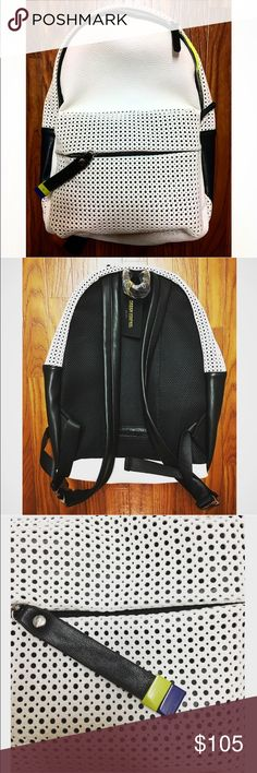✨White Backpack👍🏻 👉🏻Check out this unique and stylish white Backpack✨Perfect for daily use🎈Never used before🌸 Bags Backpacks