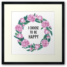 I Choose To Be Happy by epine