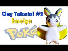 Pokémon Emolga Part #2 Polymer clay tutorial