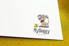Logo Hund Spielen :) EXKLUSIVES Logo Hund Spielen Logo