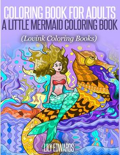 Amazon Coloring Book For Adults A Little Mermaid Lovink