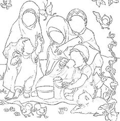 84 best Islamic coloring pages images on Pinterest | Ramadan crafts ...
