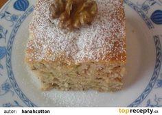 Cukeťák pro mlsné jazýčky recept   1/2 kg hladké mouky 20 dkg krupicového cukru 2 vejce 1 lžička jedlé sody 1 vanilkový cukr 2 hrnky cukety (nahrubo strouhané) 160 ml oleje 1 malý kelímek bílého jogurtu špetka skořice špetka zázvoru (mletého) hrst rozinek hrst vlašských ořechů (nahrubo nasekaných) 2 dcl rumu