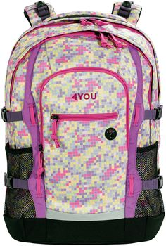 Der  4You   Schulrucksack  mit mitwachsendem Tragesystem ab Klasse 4!