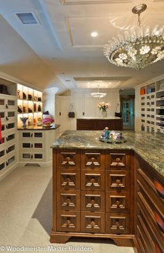 To die for - master suite dressing room Omg! Heaven... Just need a place for my purses.