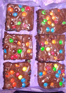 Gluten Free Brownies. Yummy!