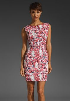Plenty by Tracy Reese Flanged Shift Dress thestylecure.com