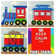 Train acrylic