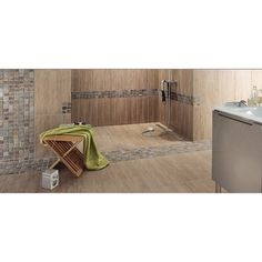 Mosa que brazil barrette rouille leroy merlin salle for 8x4 bathroom ideas