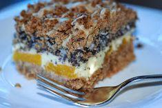 Jak tylko zobaczyłam to ciasto , wiedziałam, że musi u nas zagościć. Zawiera wszystko to ,co najbardziej lubimy. Połączenie maku, s...