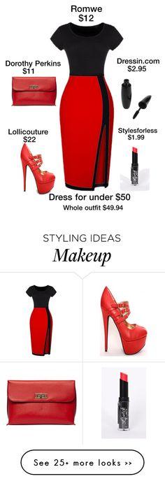 """Dress under $50"" by lorrainekeenan on Polyvore"