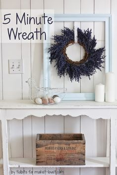 5 Minute Wreath - Ti