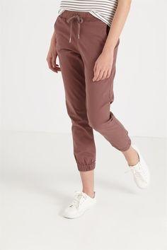 the cuffed chino Women Pants, Parachute Pants, Khaki Pants, Fall, Cotton, Stuff To Buy, Collection, Fashion, Trousers Women