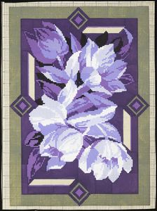 Cross Stitch Flowers, Cross Stitching, Projects To Try, Amethyst, Texture, Rock, Crystals, Painting, Berlin