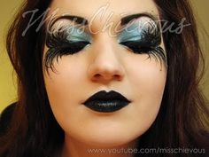 Fallen Angel Halloween Makeup