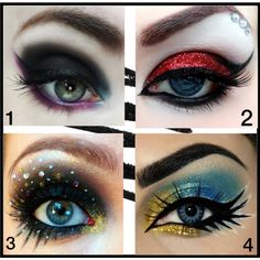 """""""Fancy Eye Makeup."""" by style-vh on Polyvore"""